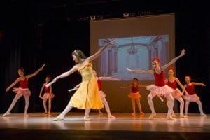 Balet - labodi Postojna