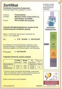 Mizarstvo Šemrl-certifikat