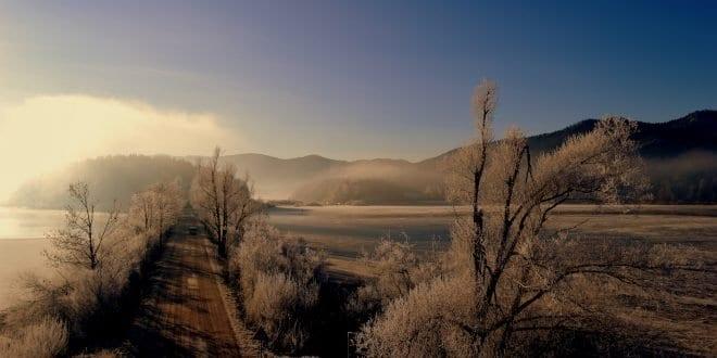Cerkniško jezero, zimska idila, Foto: Miha Gornik