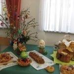Razstava velikonočnih jedi. Društvo Klasje. Foto: Klavdija Hiti