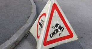 Prometna nesreča pri Pivki