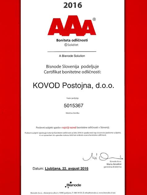 kovod-certifikat