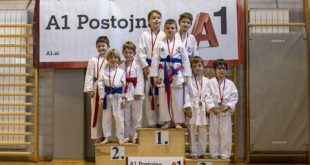 Karateisti so se pomerili v novi A1 ligi