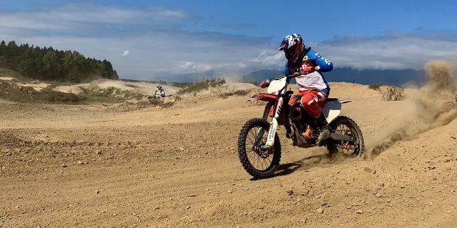 Z dobrodelnim treningom motokrosa na pomoč Maksu Mausserju