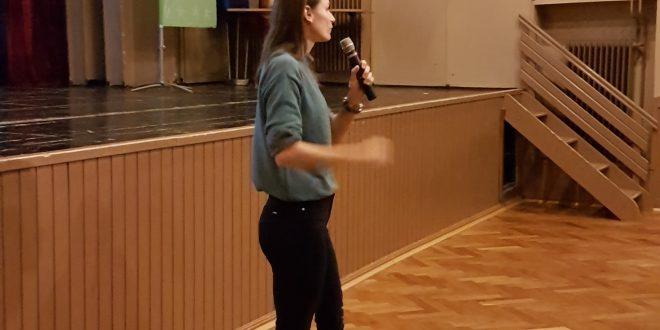 Sara Isakovič v Logatcu o psihološki odpornosti v športu