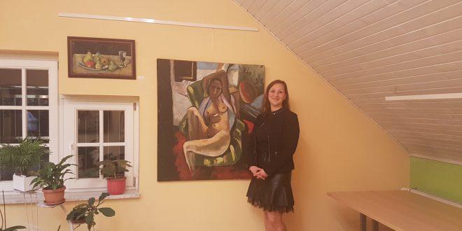 Polona Pivk Mihevc se vrača k slikarstvu, svoji prvi ljubezni