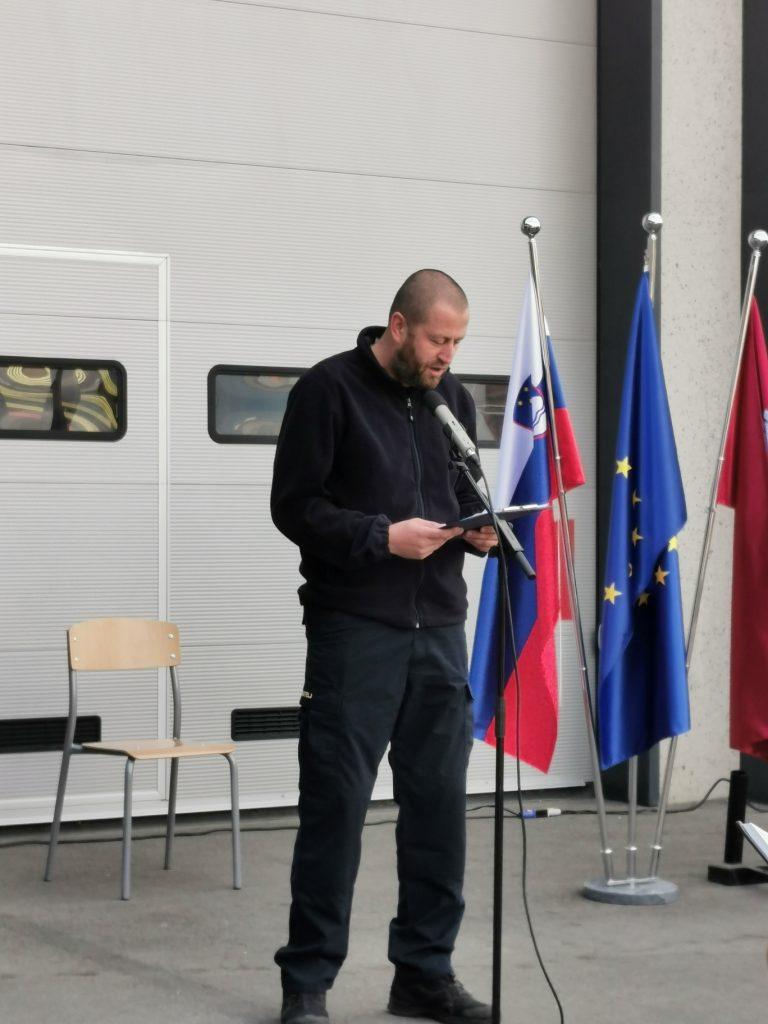 Mitja Šantelj, vodja intervencije