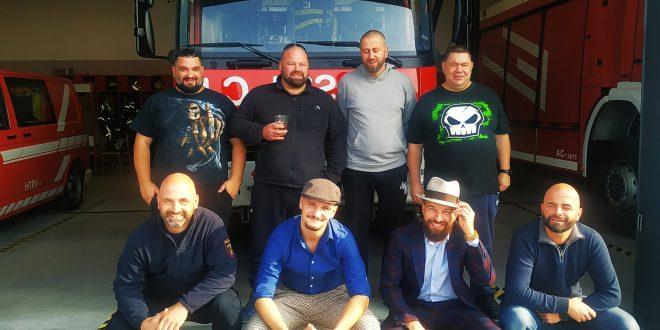 Postojnski gasilci imajo najbolj urejene brade