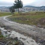 Škocjanska pot na Rakeku. Stanje po poplavi. 29.2.2016. Foto: Miha Belca