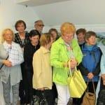 Otvoritev slikarske razstave Janeza Dragoliča v Galeriji Krpan v Cerknici. Foto: Klavdija Hiti