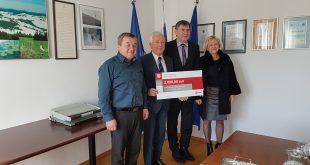 Z donacijo Zavarovalnice Triglav na Blokah do potrebne opreme civilne zaščite